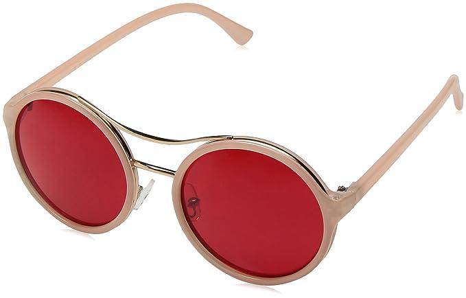 0f1be90b962 Amazon.com  A.J. Morgan Women s Ostrich Round Sunglasses