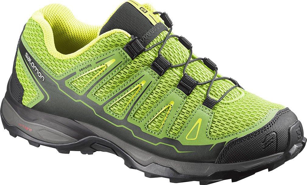 Salomon Kid's X-Ultra Green Hiking Sneakers 10 M by Salomon