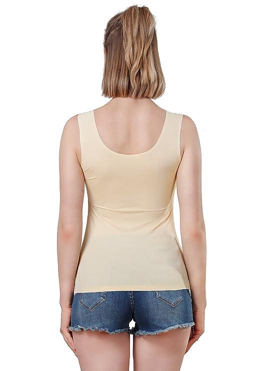 9af3f8f275909c Amazon.com  Vislivin Womens Tank Tops Spandex Basic Tank  Clothing
