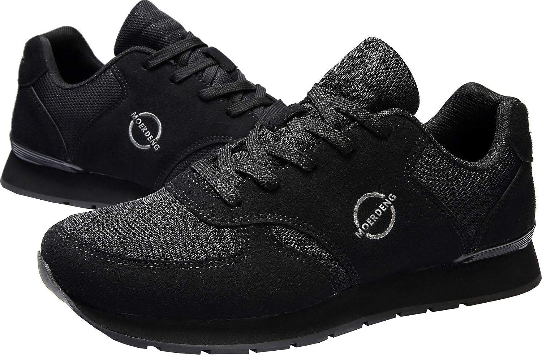 MOERDENG Mens Walking Shoes Lightweight Fashion Road Running Sneaker