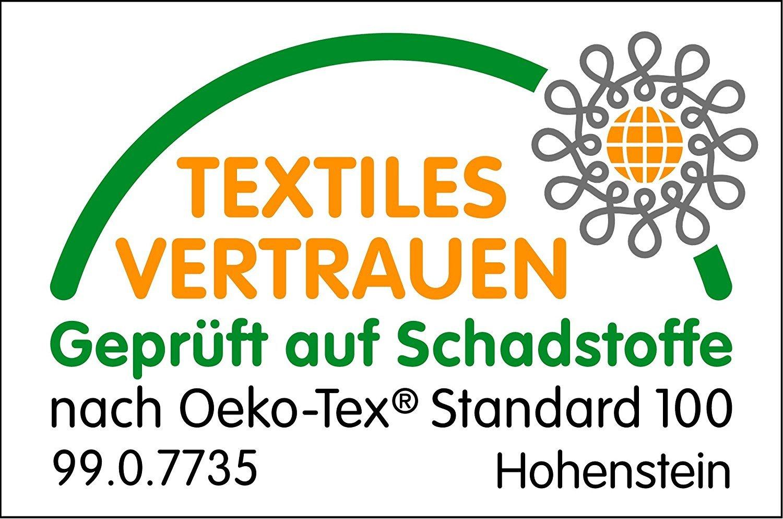 Tissu /éponge 100/% Coton certifi/é /Öko-Tex /Étoile Gris Bavoir Enfant Bavette r/églable avec Bouton /à pression Lot de 2 Bavoir B/éb/é Grande Taille