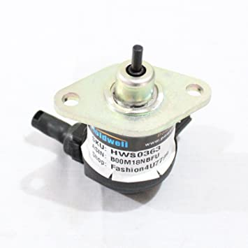 Amazon.com: Holdwell Solenoide de combustible 17208 – 60015 ...