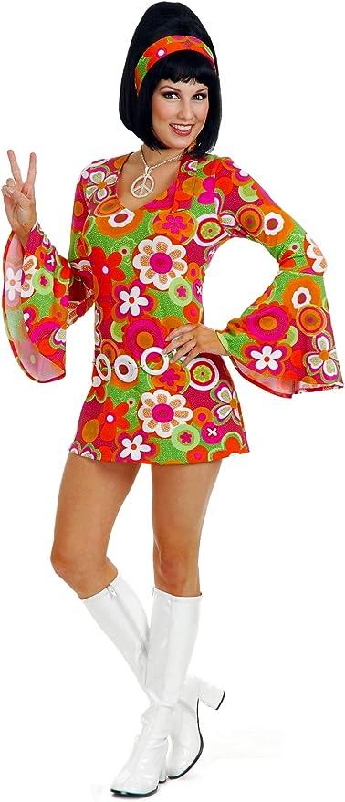 60s Costumes: Hippie, Go Go Dancer, Flower Child, Mod Style Charades Groovin Costume for Adults $34.32 AT vintagedancer.com