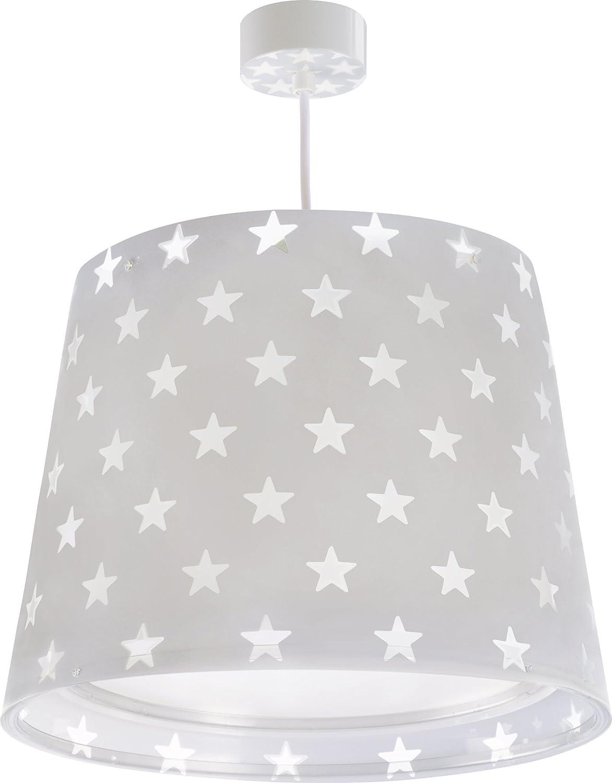 Dalber Stars Colgante E27, Gris 81212E