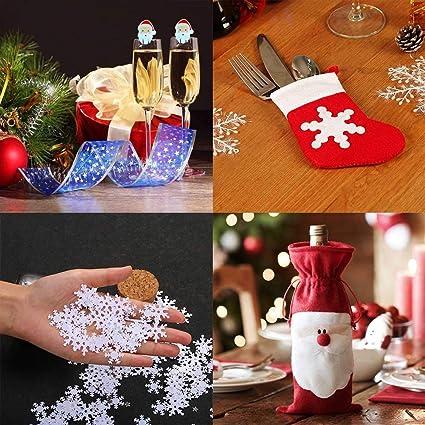 Y Iran 21pcs Xmas Set Tableware Bags Christmas Party Decoration