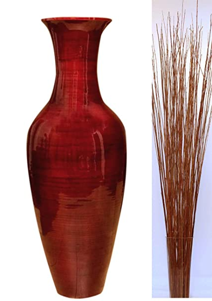 Amazon Greenfloralcrafts 47 Classic Mahogany Red Bamboo Floor