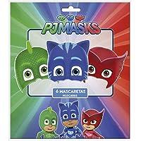 PJ Masks 0910, Pack 6 caretas Fiestas