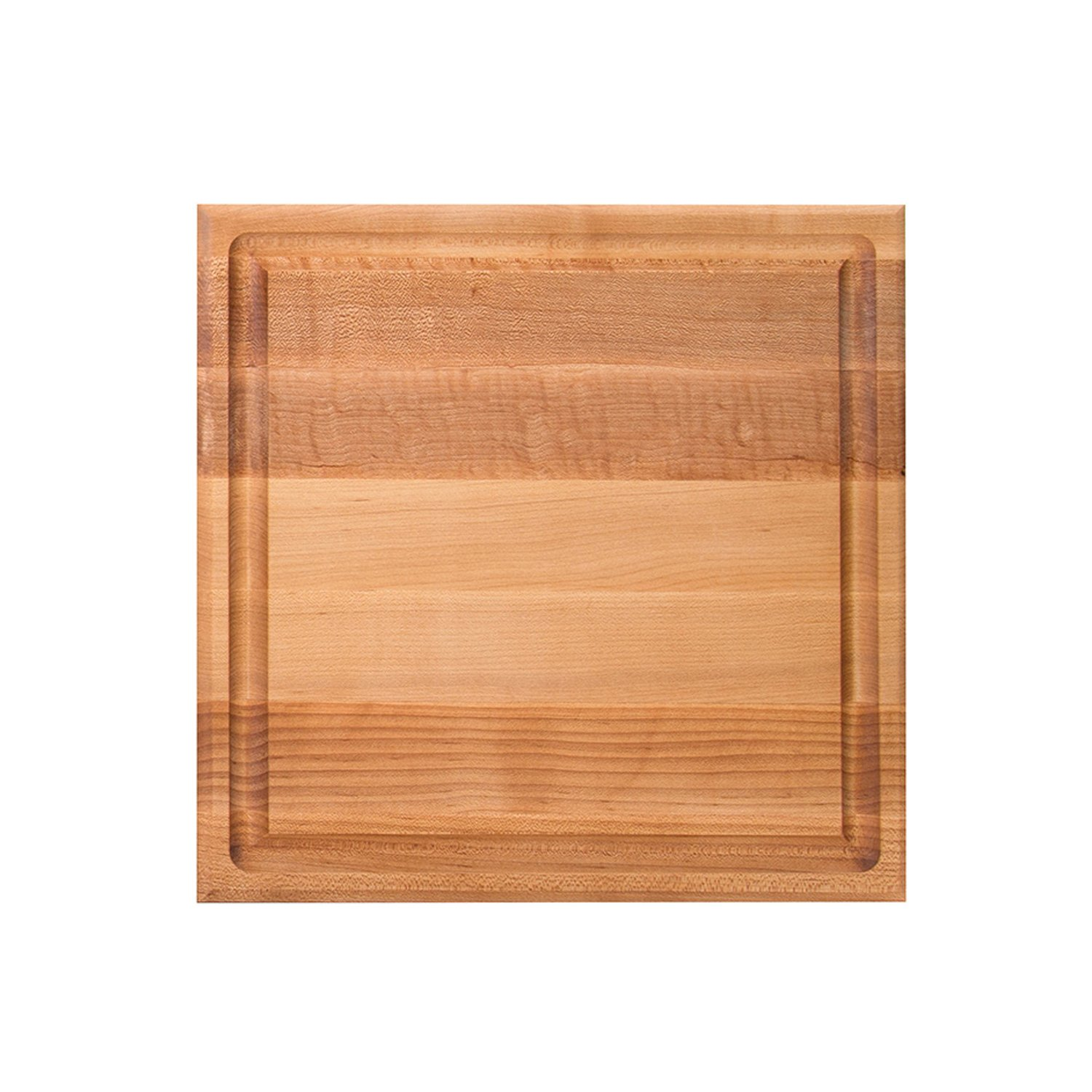 John Boos Block CB1052-1M1212175 Maple Wood Square Cutting Board with Juice Groove, 12 Inches x 12 Inches x 1.5 Inches by John Boos (Image #2)