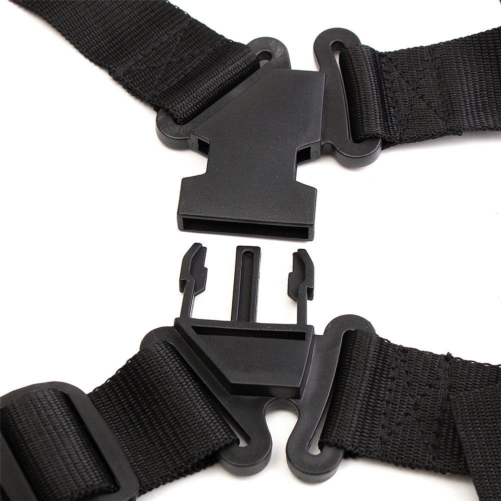 Grass Trimmer Double Shoulder Harness Strap Adjustable Black Nylon Harness Belt For Brush Cutter by Fovolat (Image #6)