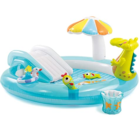 Bestway 53051 - Piscina Hinchable para niños con tobogán (Chorro ...