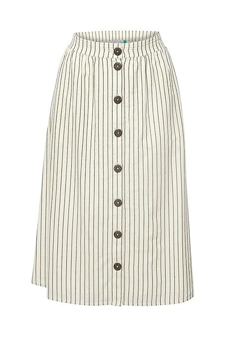 Falda Esprit en línea A Blanco 32 Blanco: Amazon.es: Ropa y accesorios