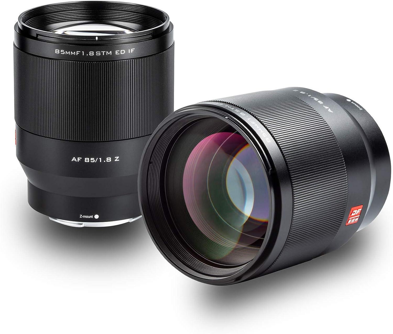 Viltrox Af 85mm F1 8 Stm Vollformat Autofokus Prime Objektiv Portrait Für Nikon Z Mount Kameras
