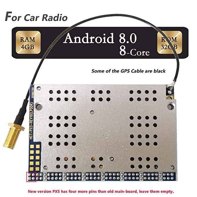 T-One PX5 Car Radio CPU Board Octa-Core Android 8 0 RAM 4GB