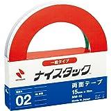 ニチバン 両面テープ ナイスタック 一般タイプ 15mm×20m NW-15