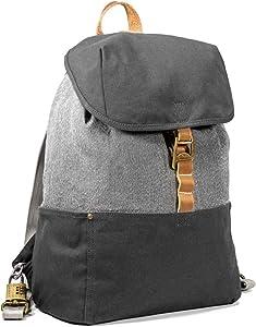 LOCTOTE Cinch Pack - World's Most Secure Backpack | Slash-Resistant | Lockable | Portable Safe | Anti-Theft (Vintage Grey)