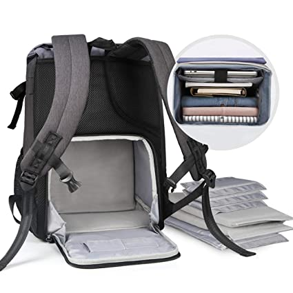 Inateck Anti-Shock DSLR/SLR Mirrorless Camera Water-Resistant Backpack with  Laptop Compartment, Rain Cover, Tripod Holder