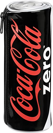 Coca Cola Cola Zéro Estuches, 20 cm, Negro (Zero): Amazon.es: Equipaje