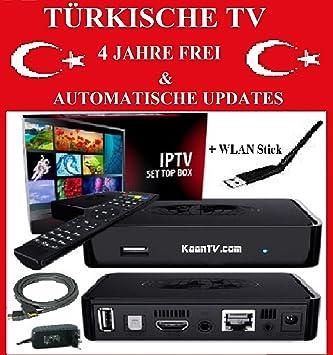 MAG 254 Turco emisor de TV IPTV Turco sin suscripción & Vida Libre ...