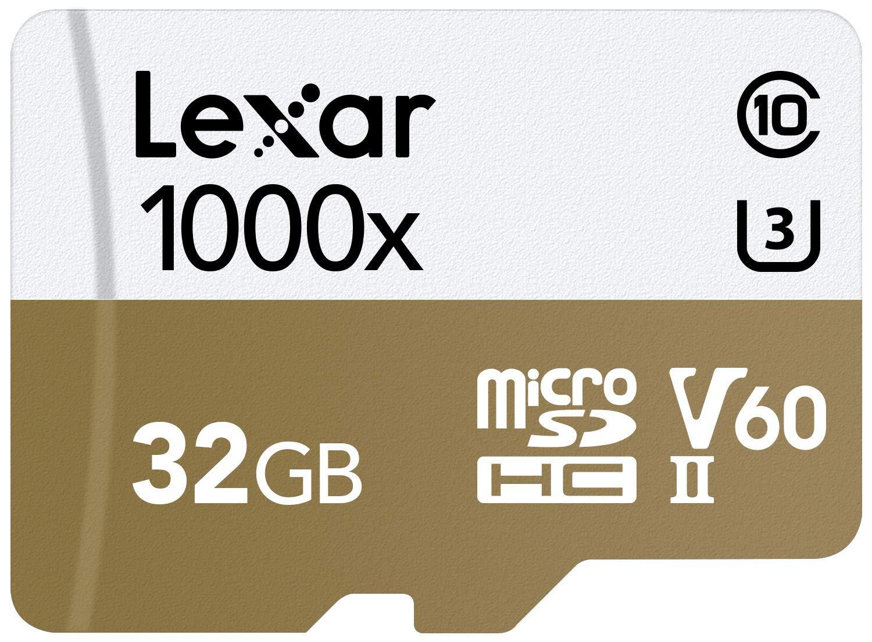 Tarjeta Lexar Professional 1000x 32GB microSDHC UHS-II