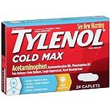 Tylenol Cold Multi-Symptom Relief Caplets, 24 Count