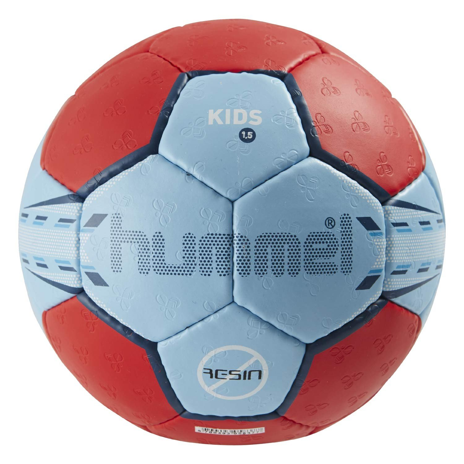 Hummel 1,5 Kids - Pelota de balonmano, color - light blue/red ...