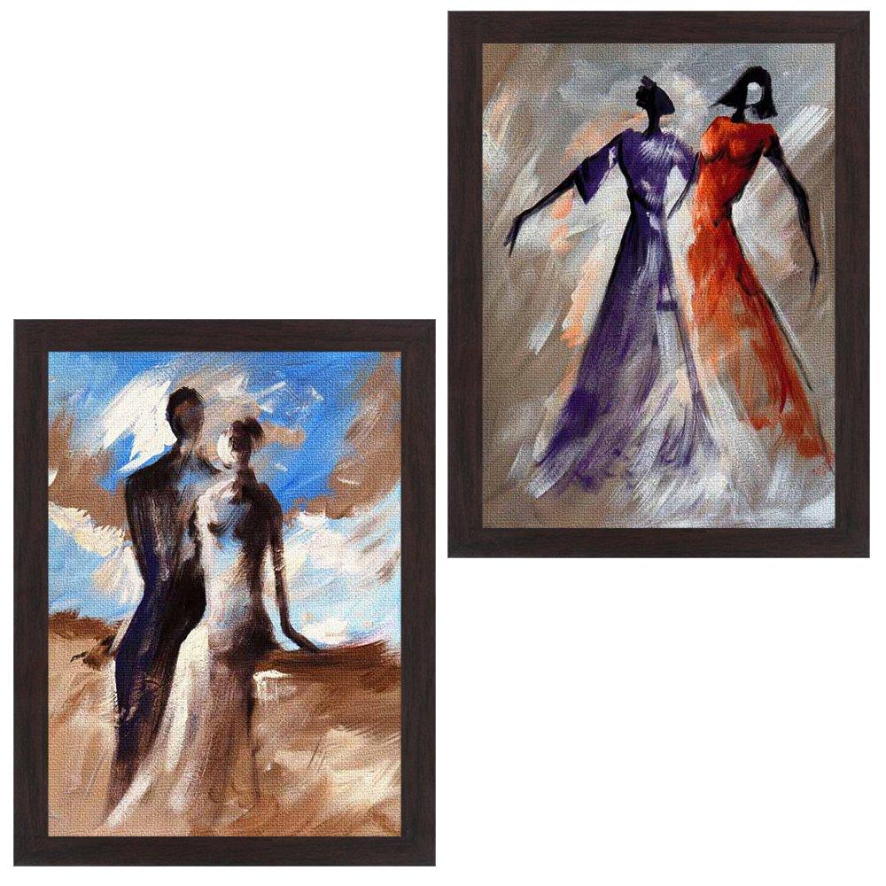 Wens 'Women Enjoying Weather' Painting