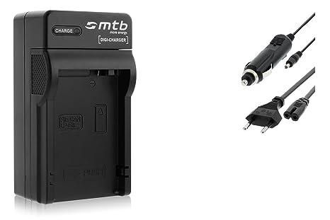 Cargador (Coche/Corriente) para Canon LP-E8 / EOS 550D, 600D, 650D, 700D / Rebel T2i, T3i, T4i, T5i