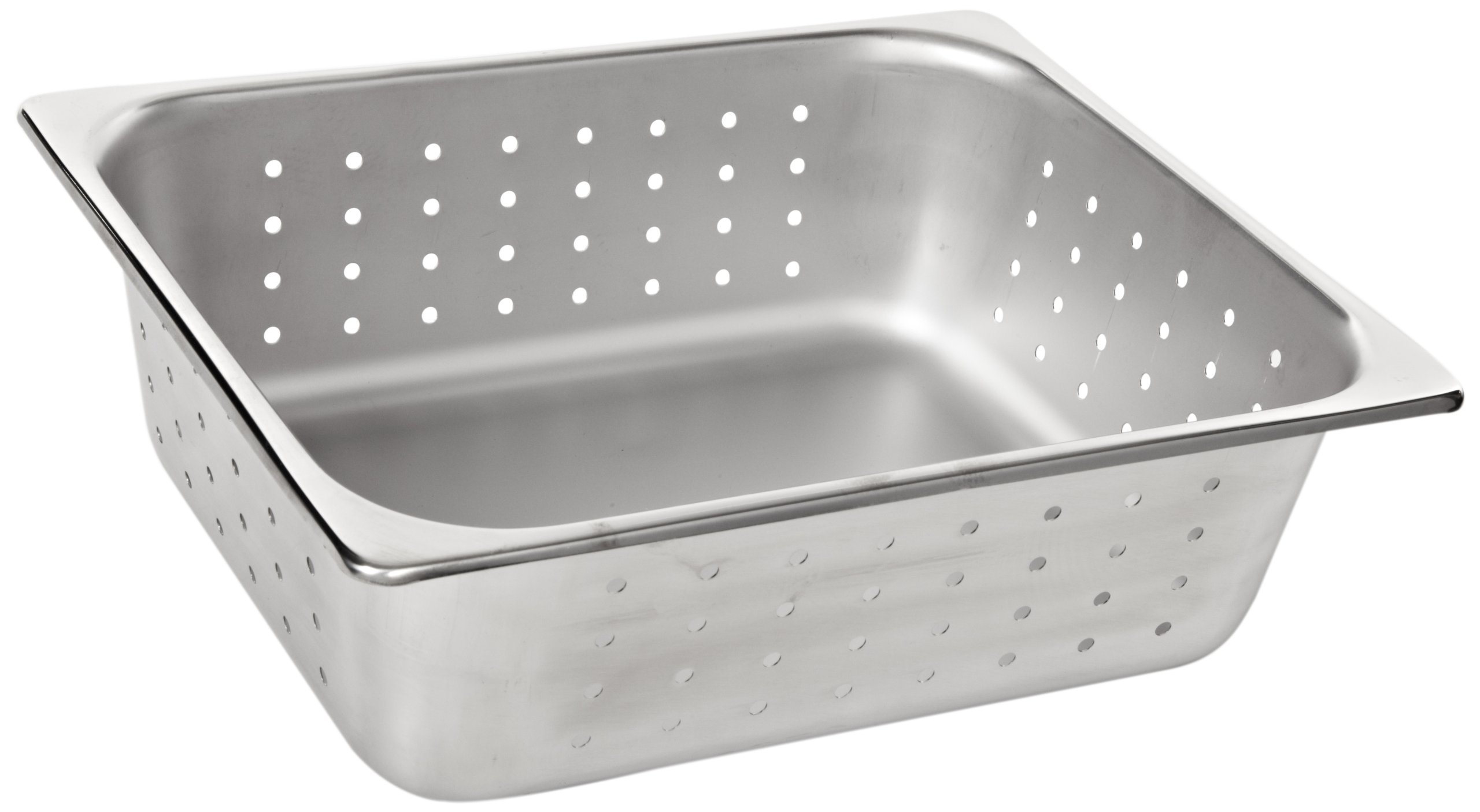 Benchmark 56743 Half-Size Perforated Pan, 12-1/2'' Length x 10-1/4'' Width x 4'' Height