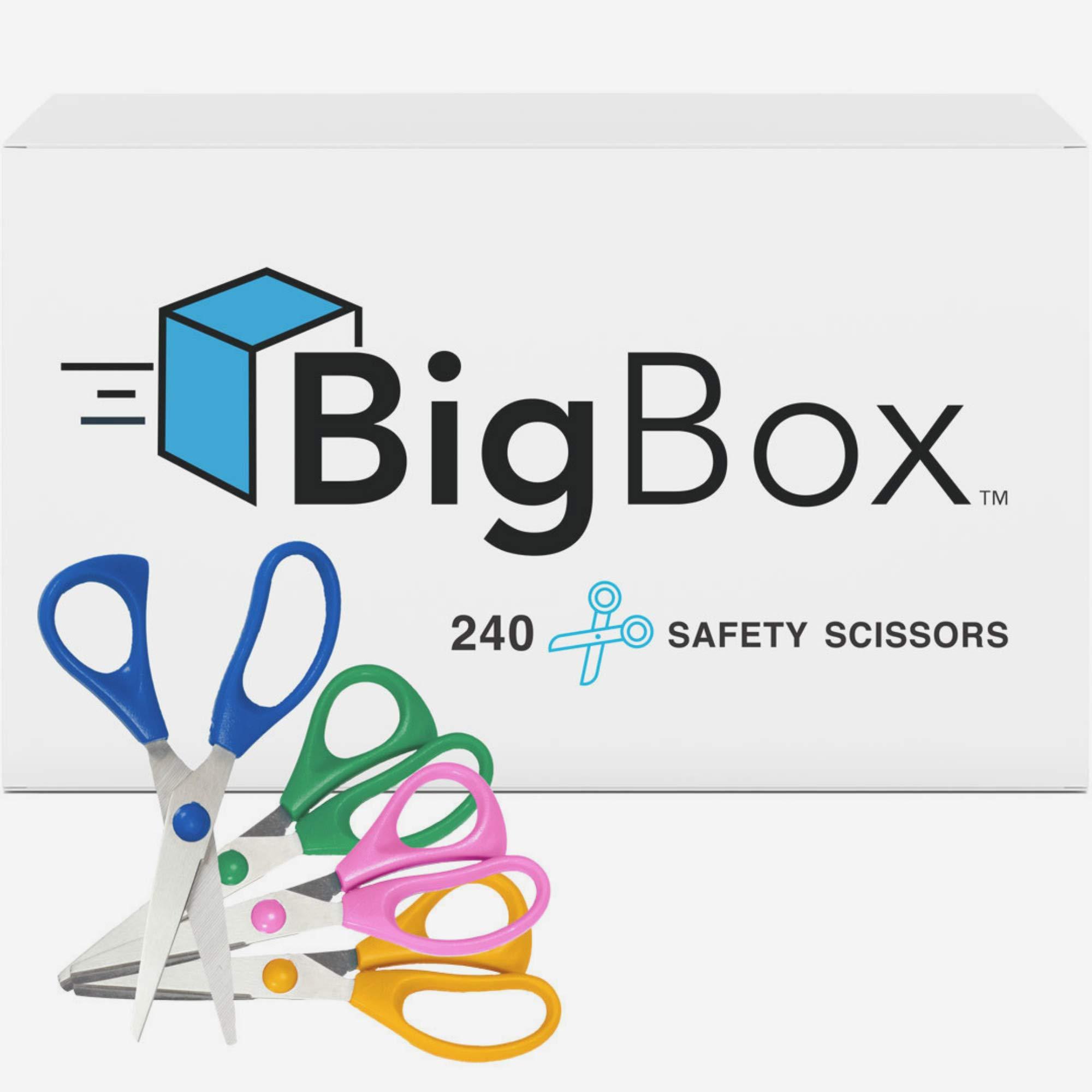 Big Box 5'' Safety Scissors (Case of 240)
