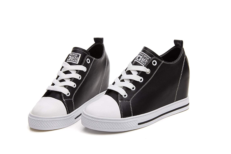 KPHY Damenschuhe/Leder Innen Damenschuhe Medium Classic Student Schuhe.Weiße 39