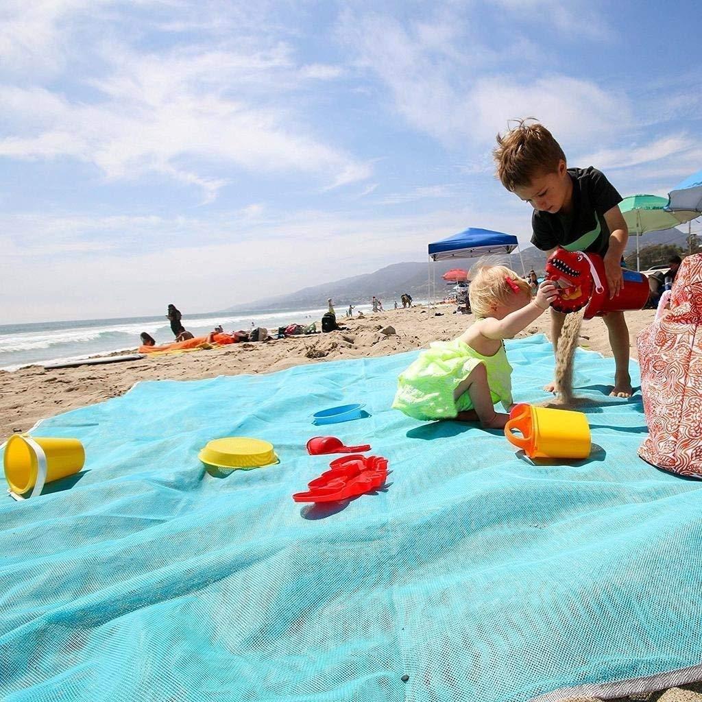Amazon.com: ABETER - Manta de playa sin arena, a prueba de ...