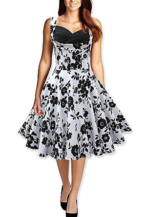 EnjoyDress Womens Hepburn Vintage Rockabilly Prom Party Evening Dress A S