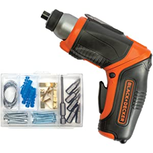 BLACK+DECKER BDCS40BI 4V Max Lithium Rechargeable Screwdriver