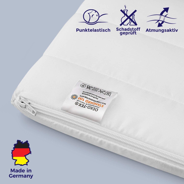 Premium Orthopädischer Matratzentopper Visco 120x200 120x190 140x190 140x200