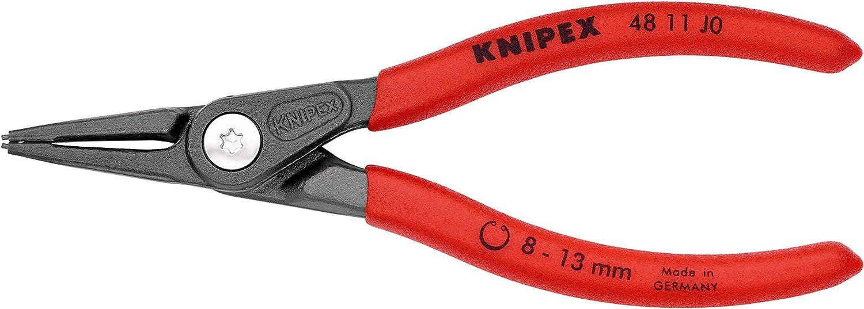 140 mm KNIPEX Pince de pr/écision pour circlips pour circlips int/érieurs dal/ésage 48 11 J0