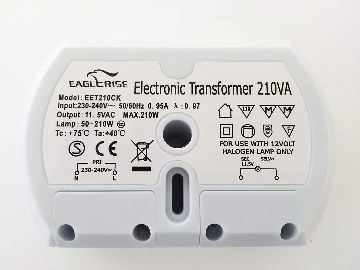 EAGLERISE SET150CS ELECTRONIC TRANSFORMER - FREE UK P+P   - 2 YEAR GUARANTEE   by CS Range