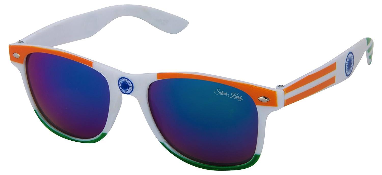 Silver Kartz UV Protected Wayfarer Unisex Sunglassesfl0