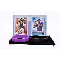 $44 » Lamar Jackson Rookie Card Bundle (2) football Cards, 2 RC - Baltimore Ravens Trading Cards