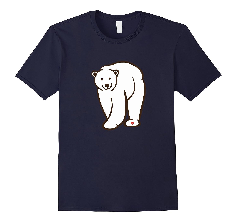Arctic Polar Bear T-shirt Save The White Bears Tee-Art