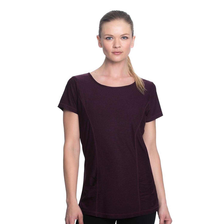 GAIAM SHIRT レディース B0765CR6VD L|Potent Purple Heather Potent Purple Heather L