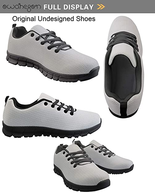 Owaheson Lace-up Sneaker Training Shoe Mens Womens Togo Flag