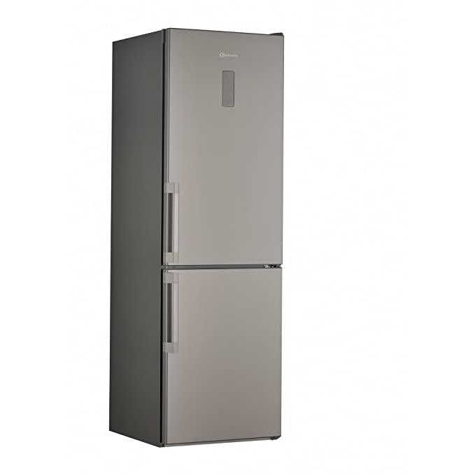 Bauknecht KGNF 185 A2+ IN Freestanding Stainless steel 222L 64L A ...