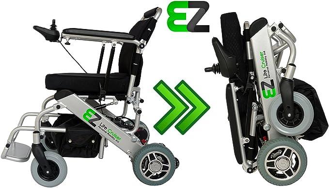 EZ Lite Cruiser - Standard Model - Personal Mobility Aid - Light Weight Folding Power Chair