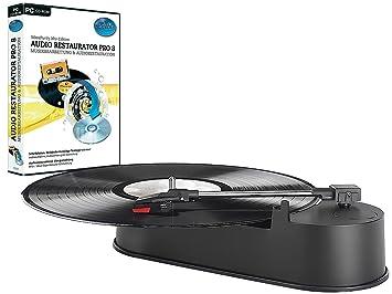 Q-Sonic compacto USB-Mini-tocadiscos Audio incluido ...