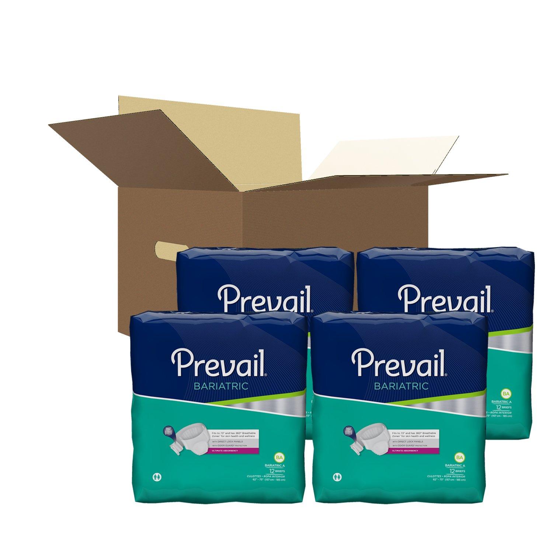 Amazon.com: FQPV017CA - Prevail Bariatric Brief Size A 62 - 73: Industrial & Scientific