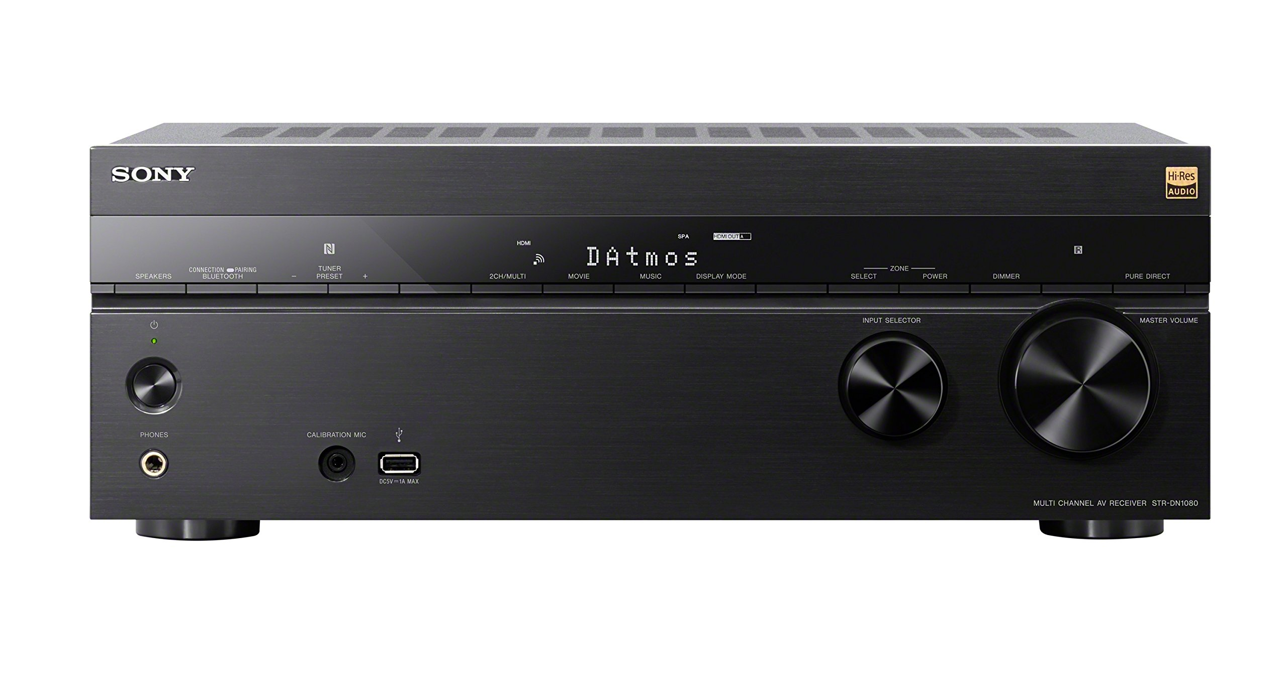 Sony STRDN1080 7.2 Channel Dolby Atmos Home Theater AV Receiver by Sony