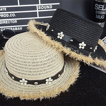 Cappello estivo da sole con cappuccio Topper da spiaggia Cappello lungo da  paglia con cappuccio piatto lungo Lungo protezione UV da donna Cappello da  sole ... 1c1e50a457f2