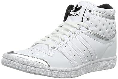 adidas Originals Womens Top Ten HI Sleek Up Trainers D65224 Running White  FTW/Running White