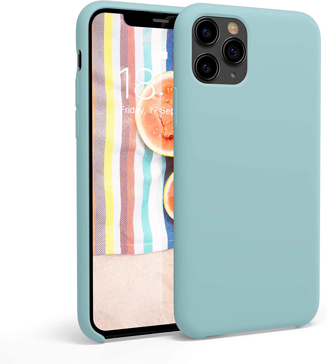 honua. Silicone Case for iPhone 11 Pro, Soft and Protective iPhone 11 Pro Case with Microfiber Lining, Compatible with Apple iPhone 11Pro 5.8