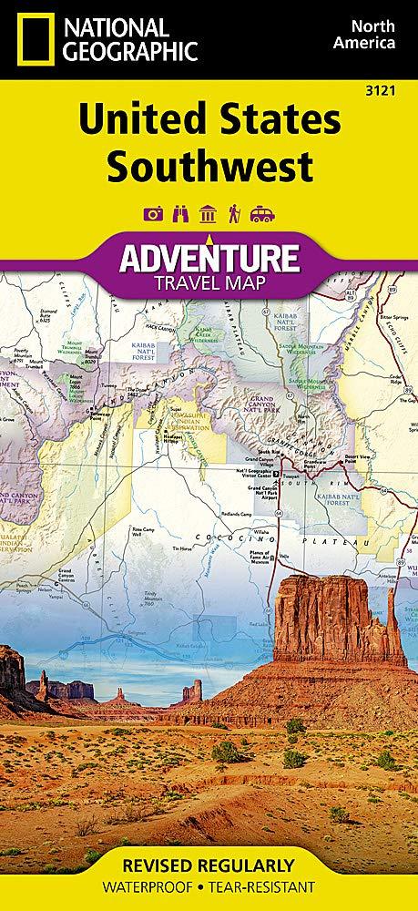 USA Southwest (National Geographic Adventure Map): Amazon.co.uk: National  Geographic: 0749717000636: Books